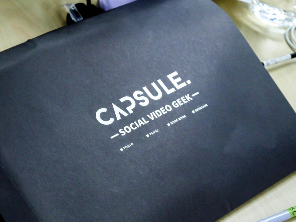 CAPSULEのオリジナル封筒