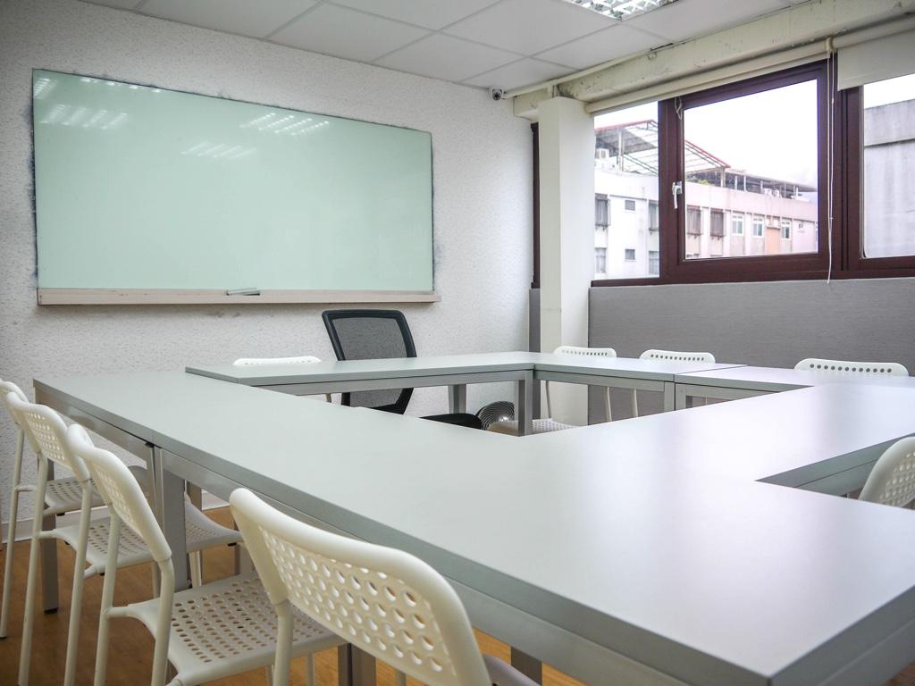 ジオスランゲージアカデミー台湾忠孝校の教室