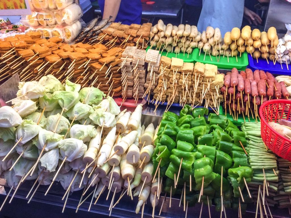 台湾の串焼き屋