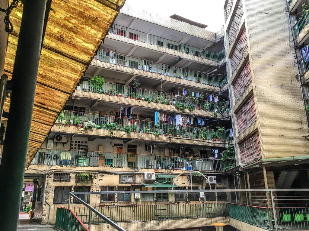 南機場公寓一期内部