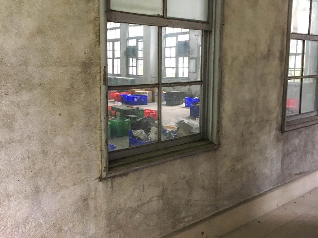 台北鉄道工場総合事務所内部の様子
