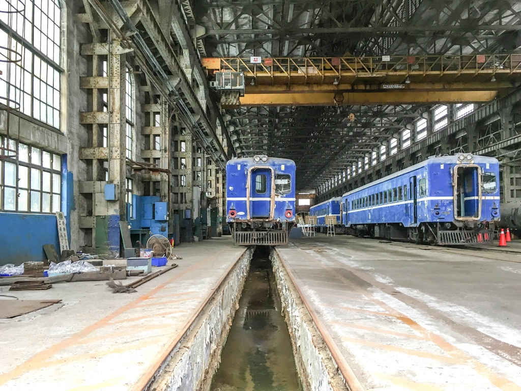 台北鉄道工場の組立工場