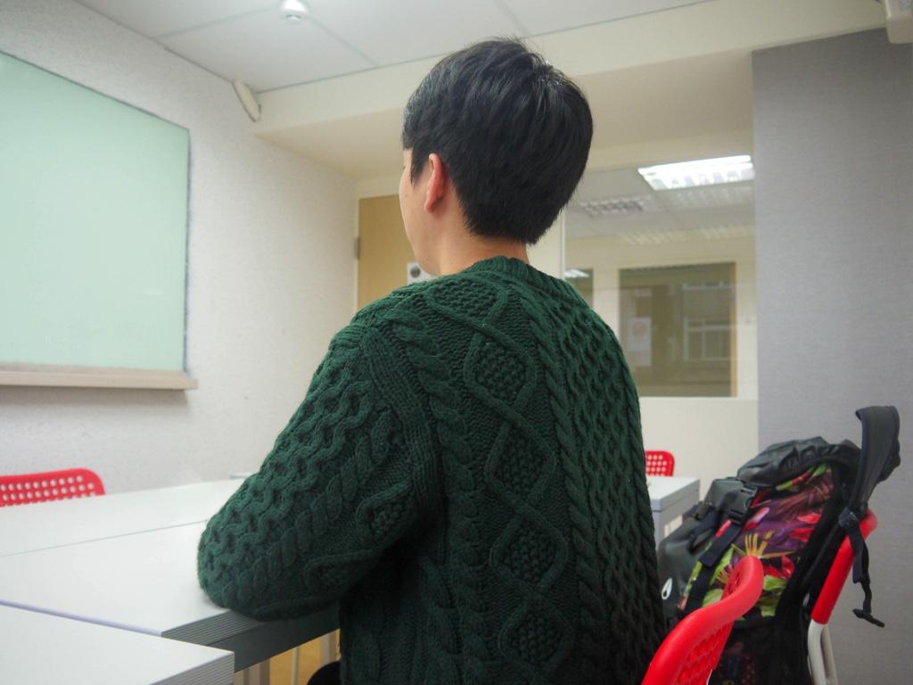 ジオス台湾の学生 Bさん