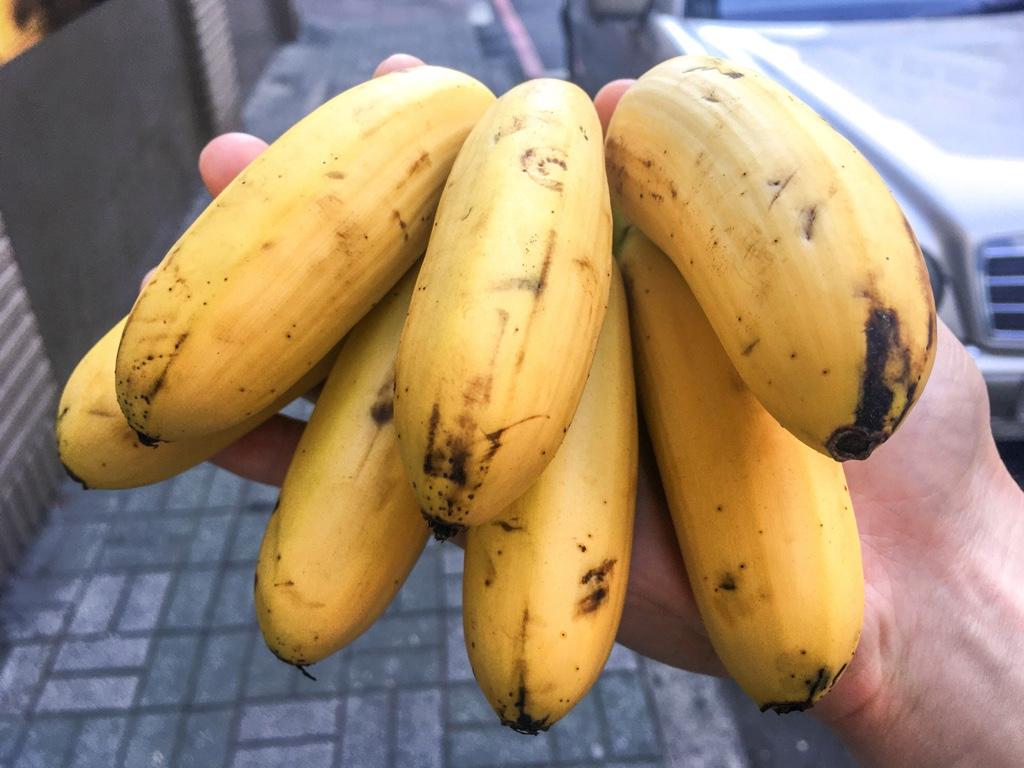 旦蕉/蛋蕉(レディフィンガーバナナ)