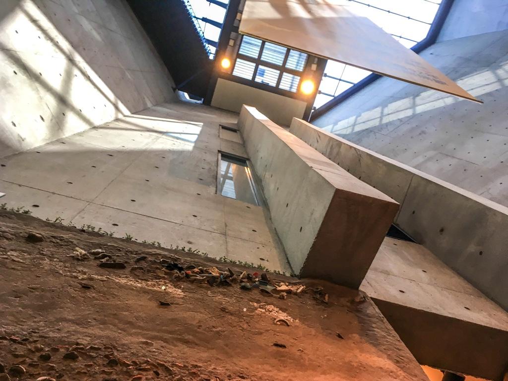 新北市立十三行博物館内部