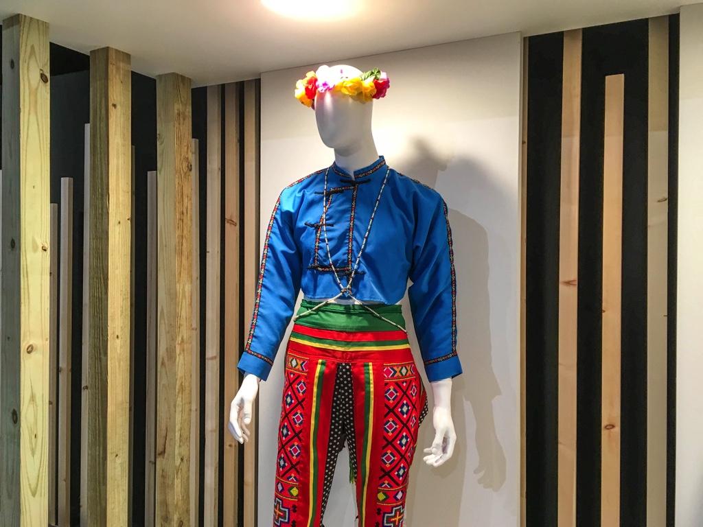 プユマ族の衣装