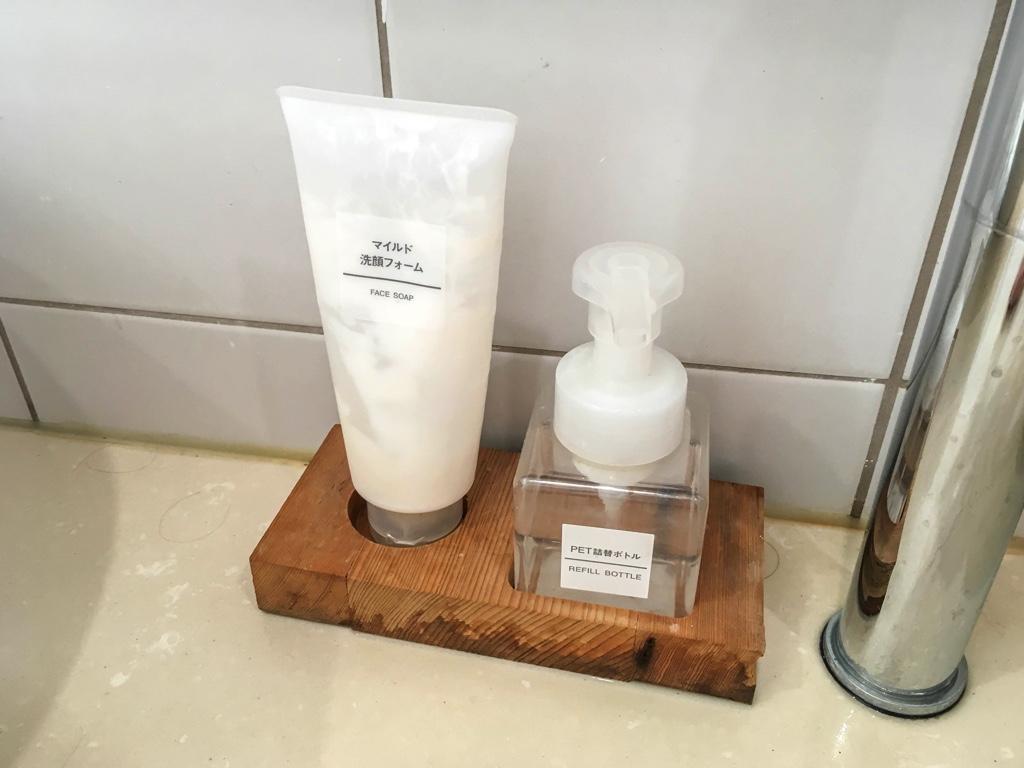 洗顔料とハンドソープ