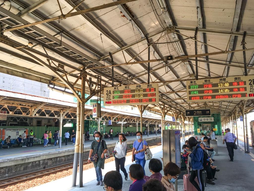 台南駅2番ホーム
