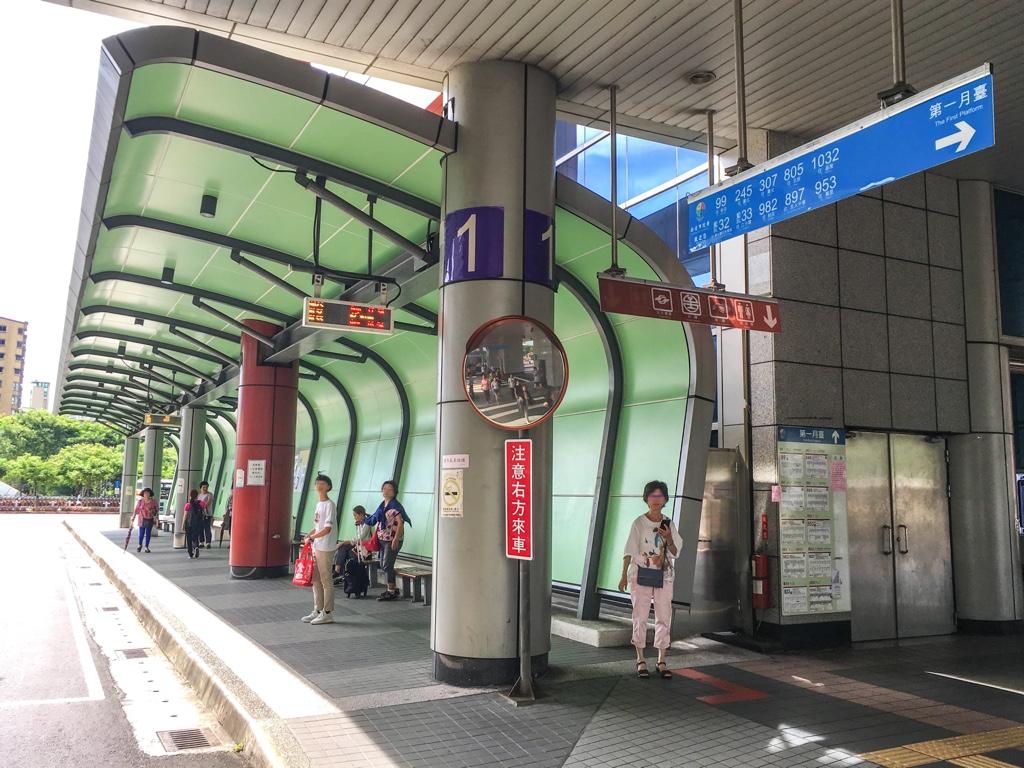 板橋駅バスターミナル1番乗り場