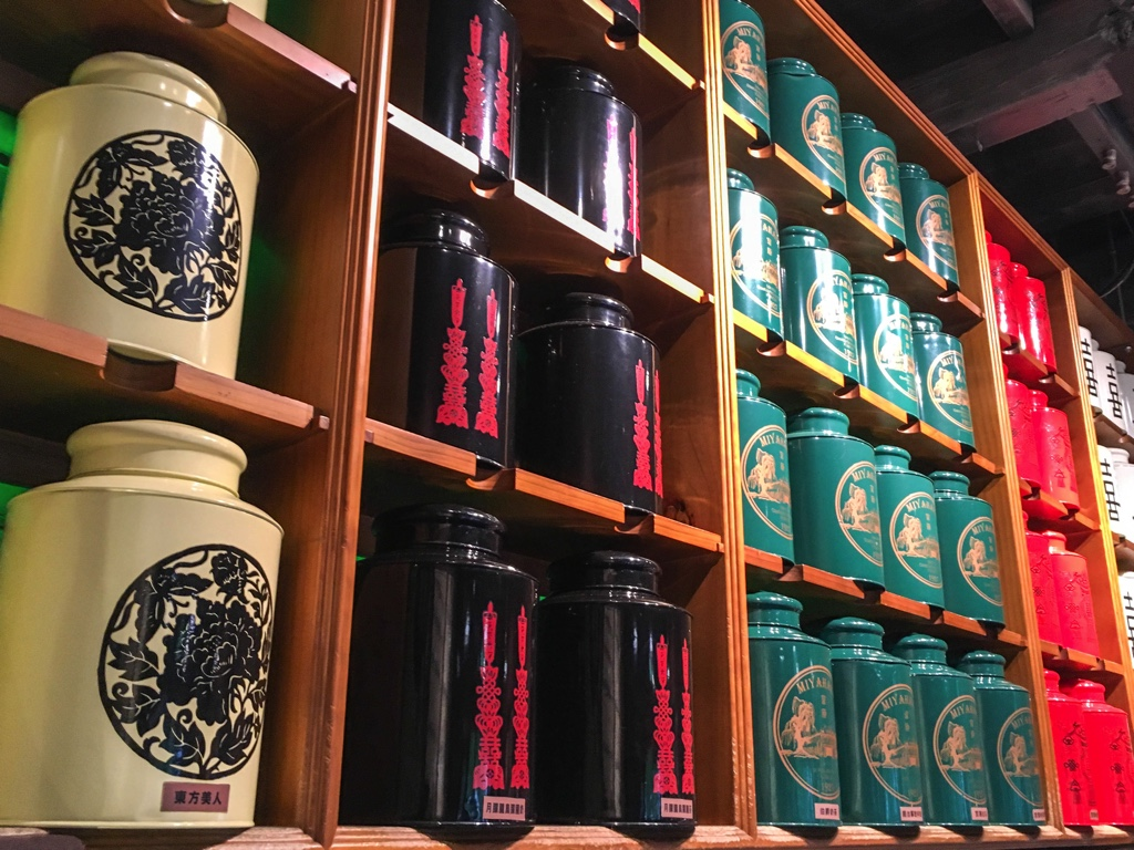 お茶っ葉の保存容器