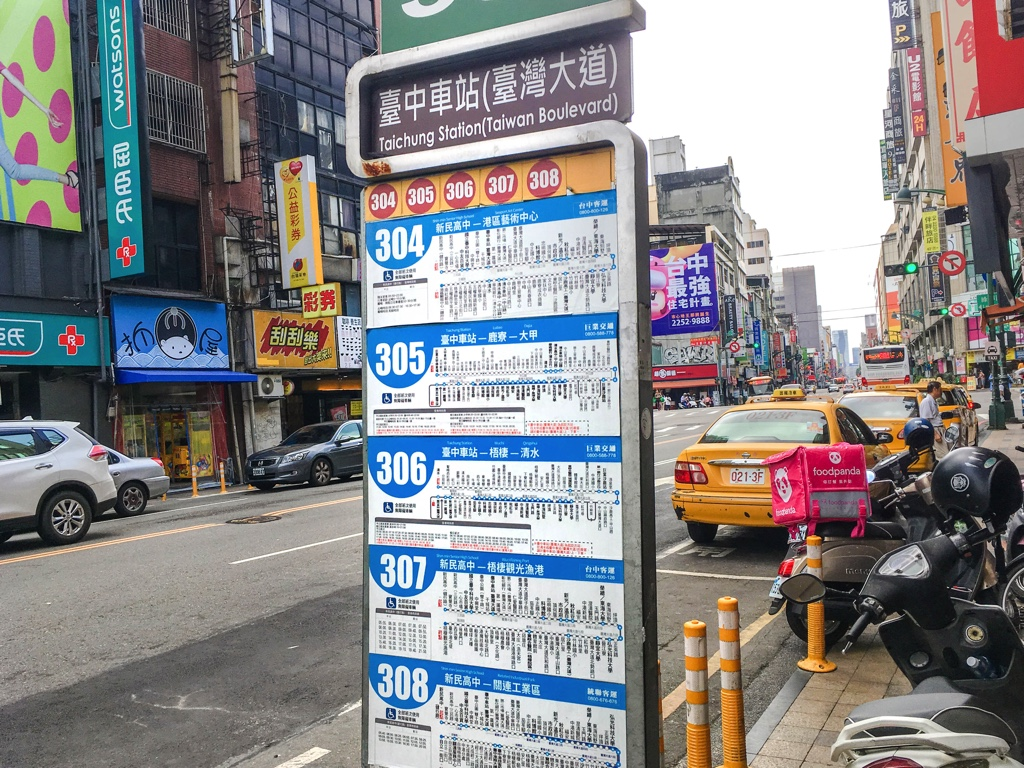 バス停「臺中車站(臺灣大道)」