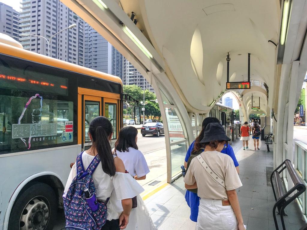 バス停「新光/遠百」