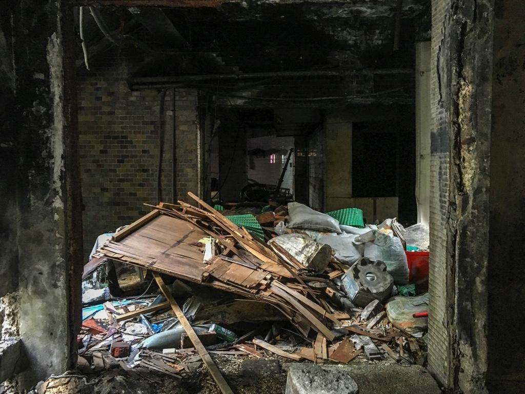 瓦礫とゴミ