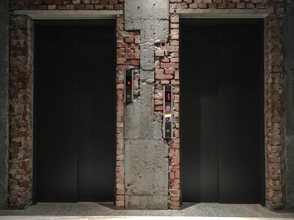 SOF Hotelのエレベーターホール
