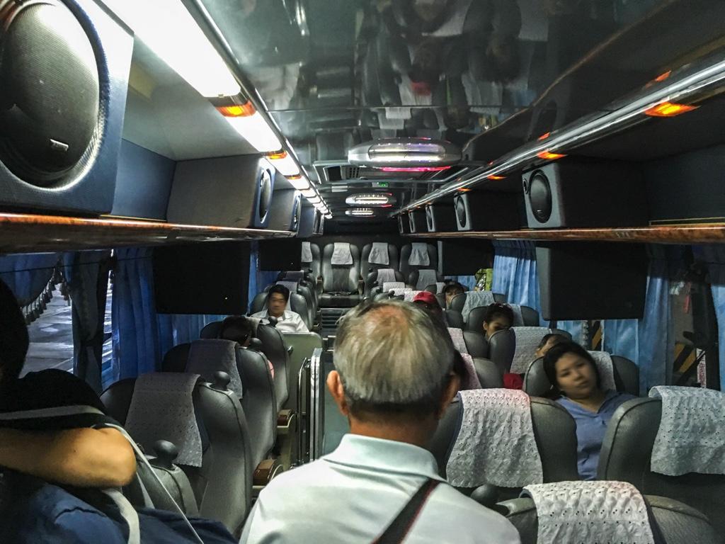 葛瑪蘭汽車客運バスの車内