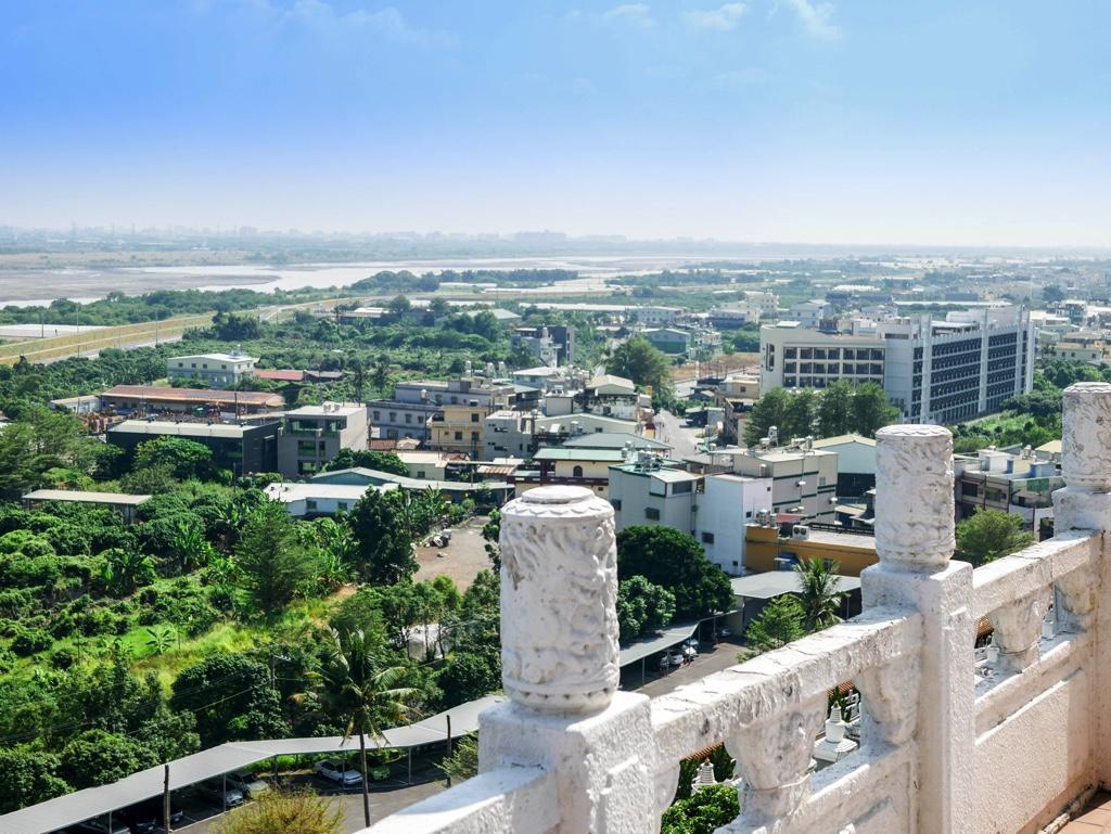 大佛成から見た街の景色