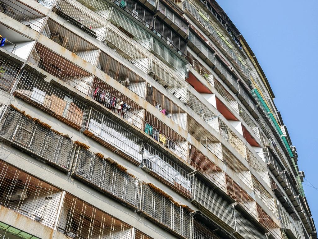 果貿社區の集合住宅外観