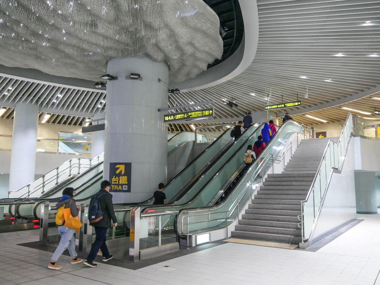 台北MRT松山駅