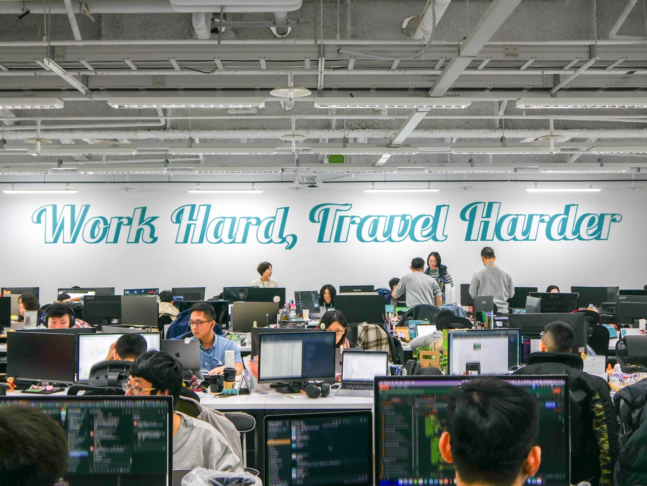 KKdayの社是 Work Hard, Travel harder