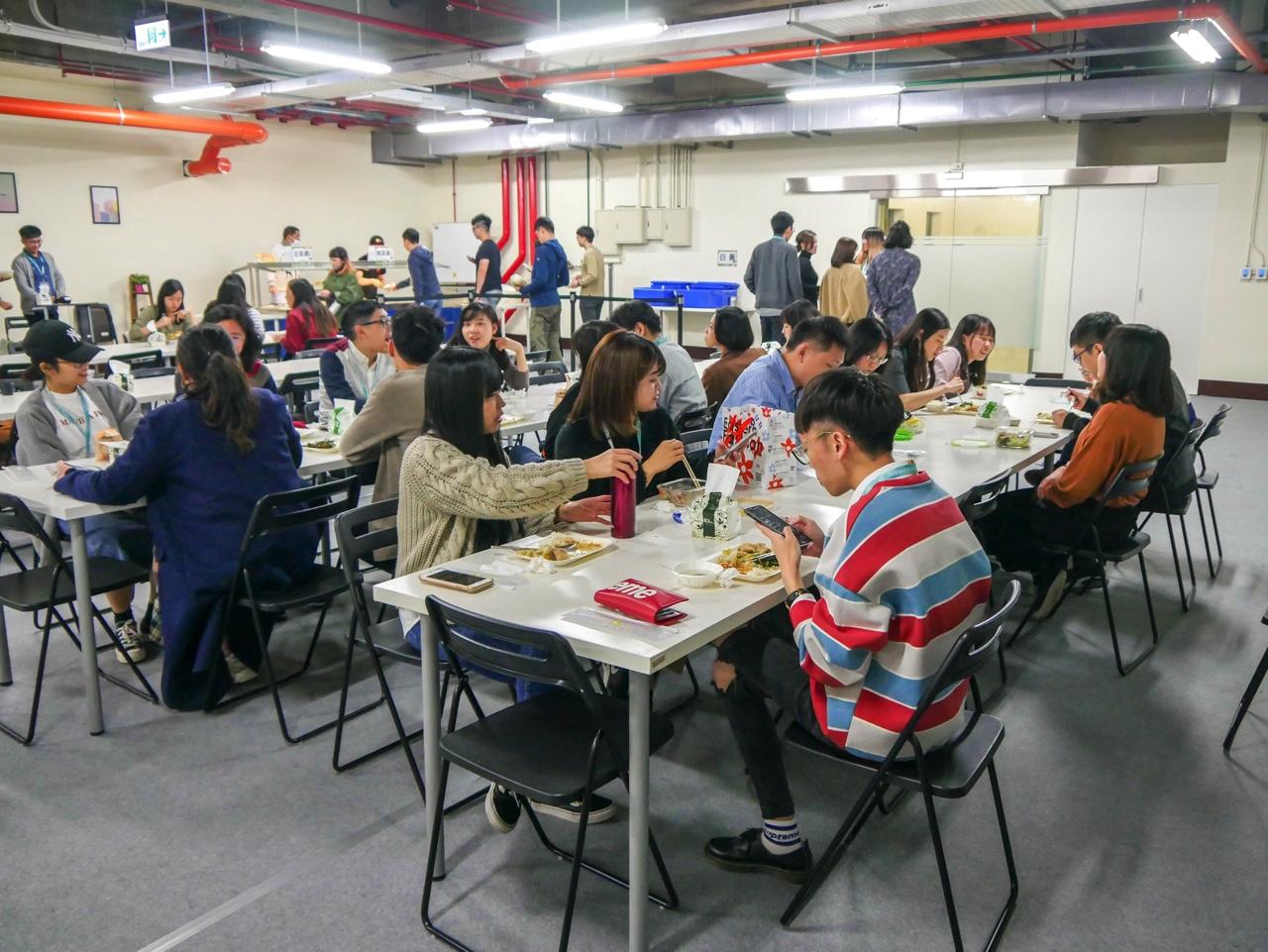 KKday本社の社員食堂