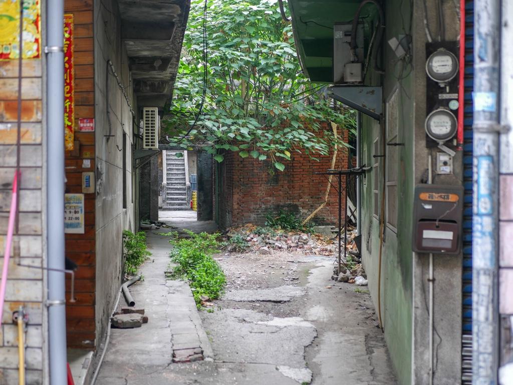 林園安樂樓の入口