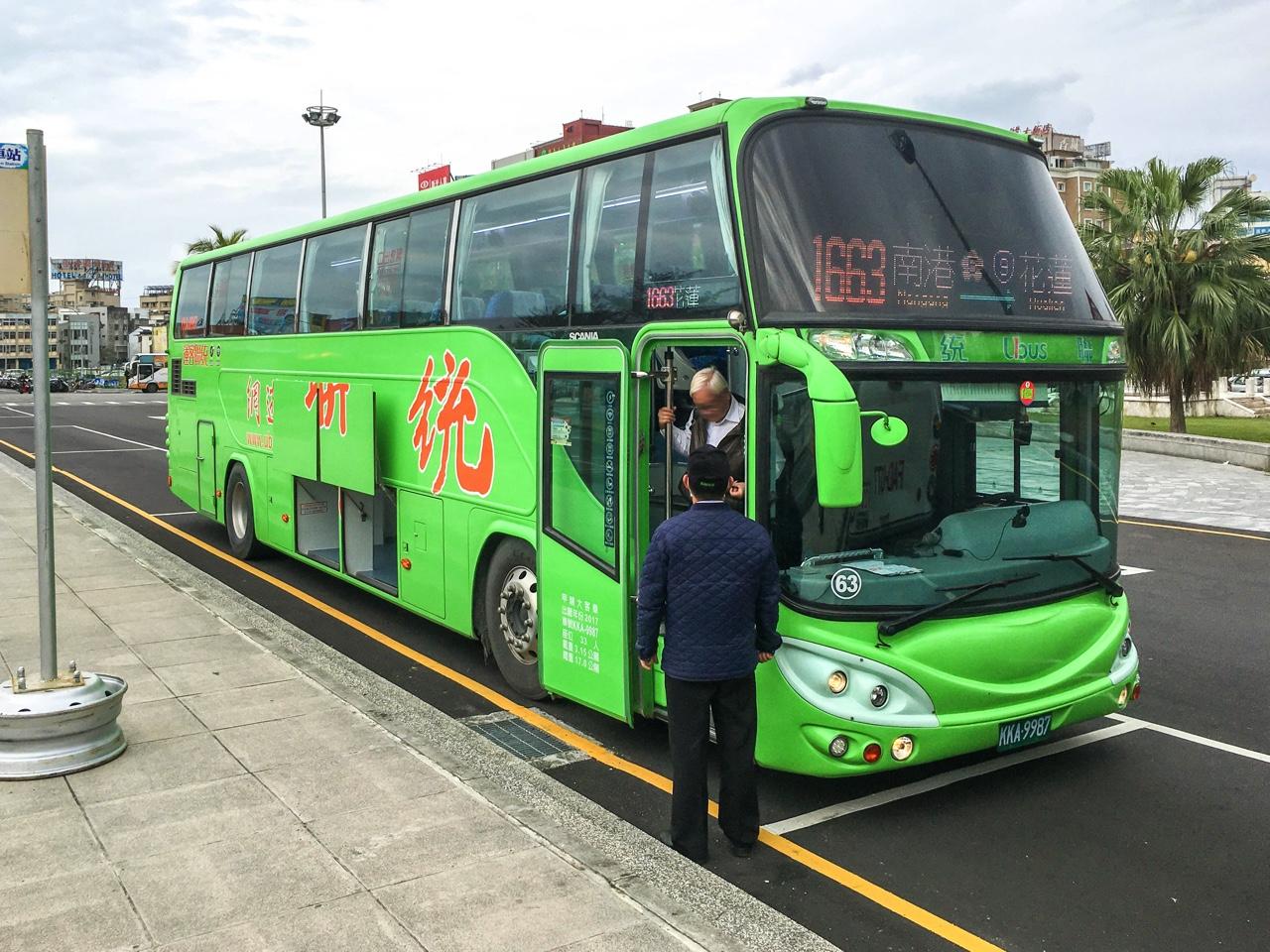 統聯客運バス