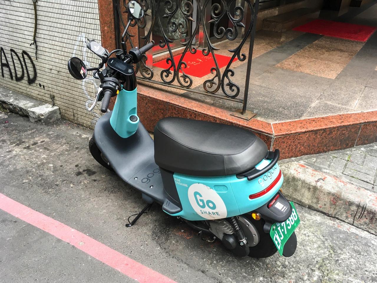 Gogoroのバイク