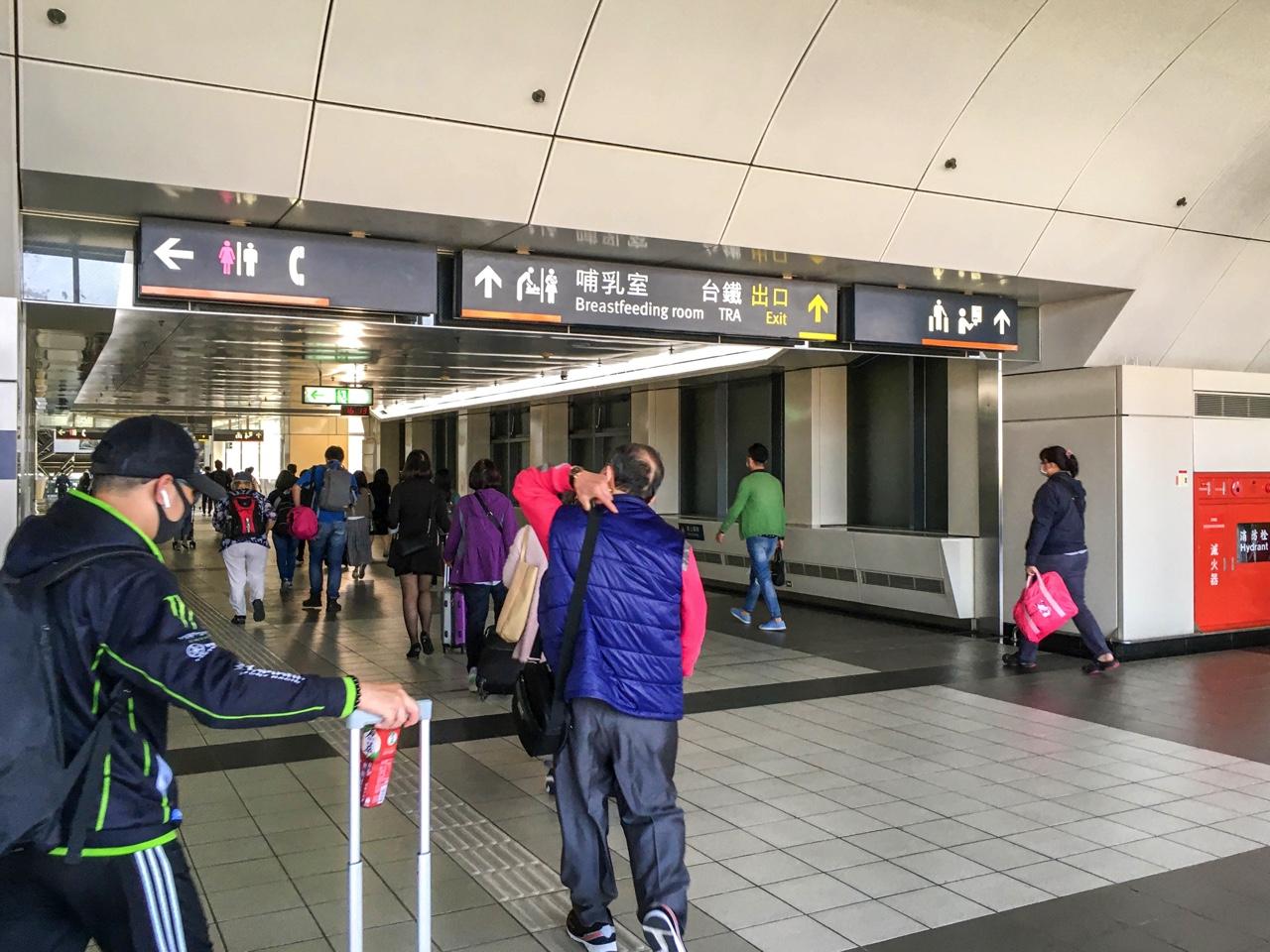 台南新幹線駅内