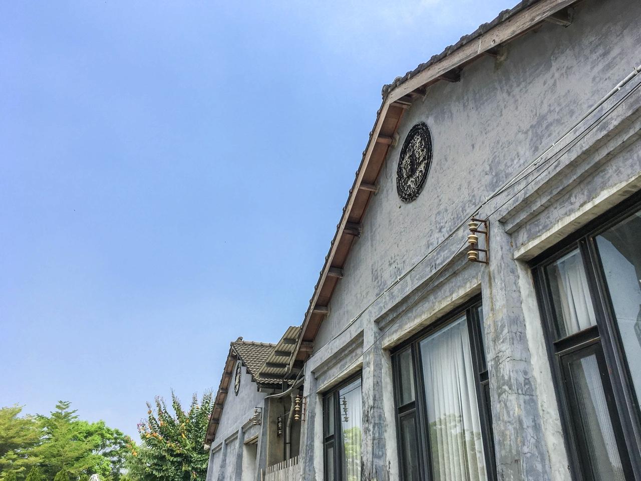 日本風の建物