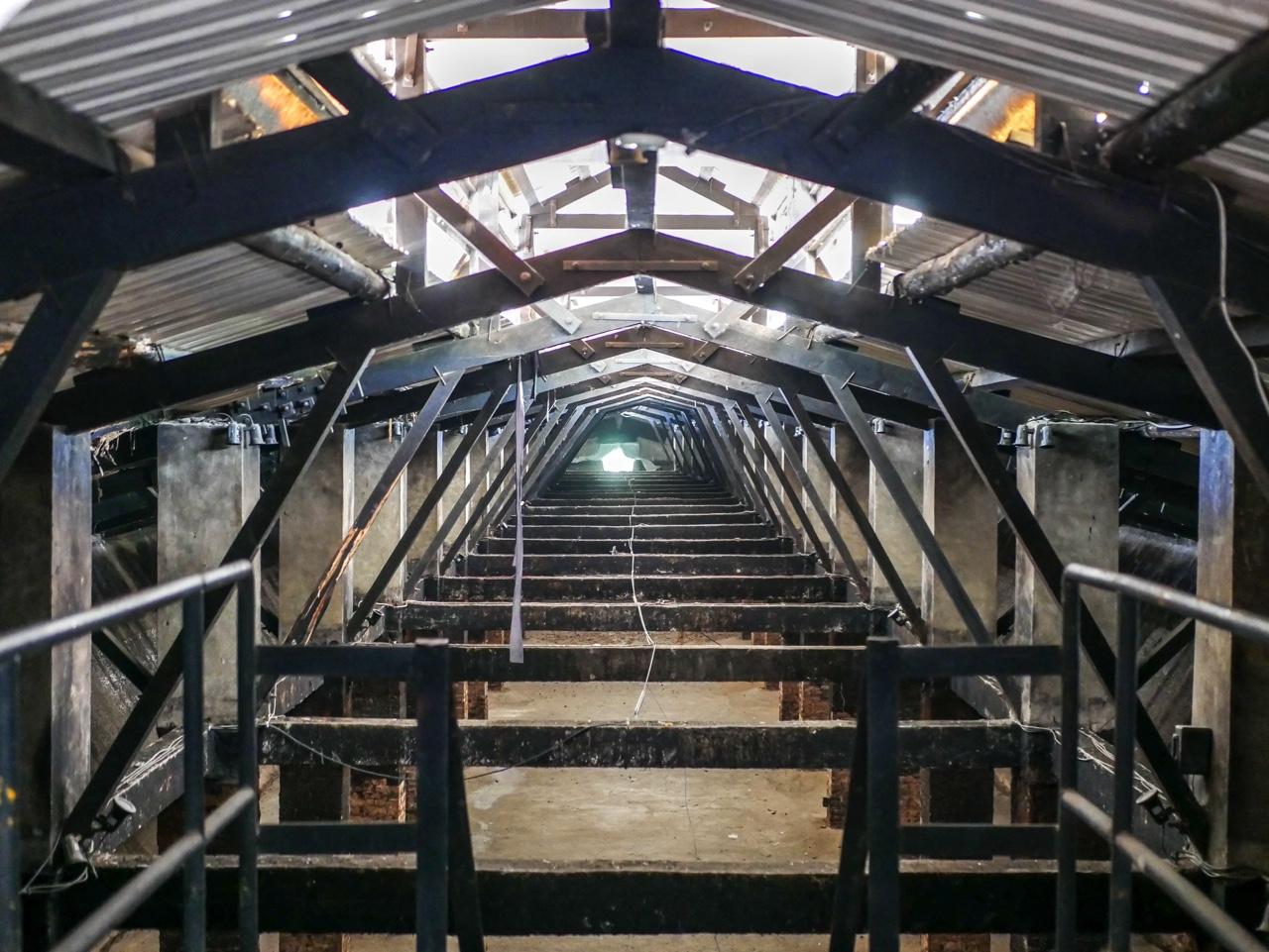地下貯蔵庫だった施設