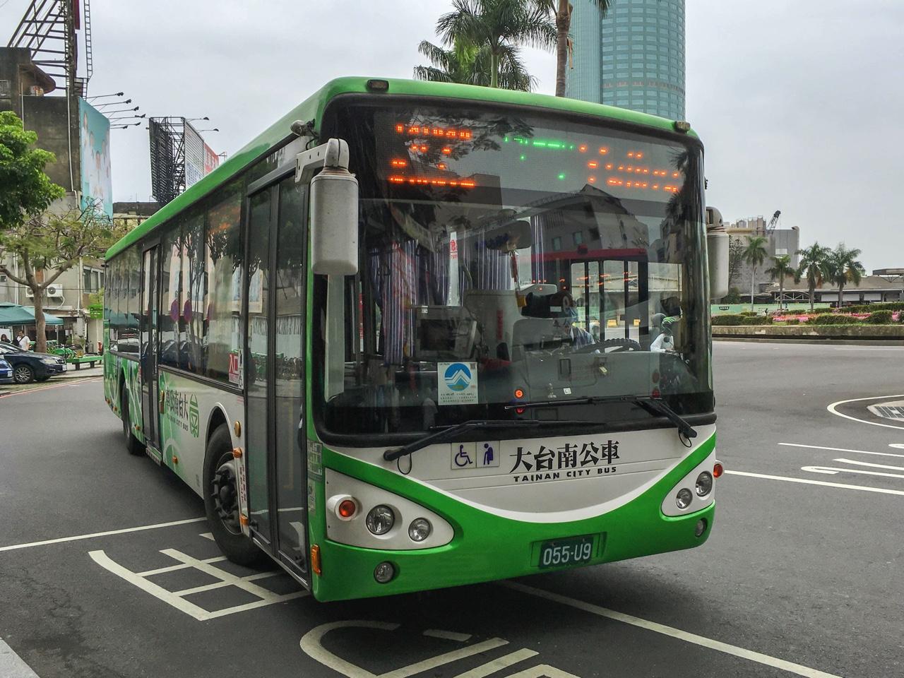 緑幹線のバス