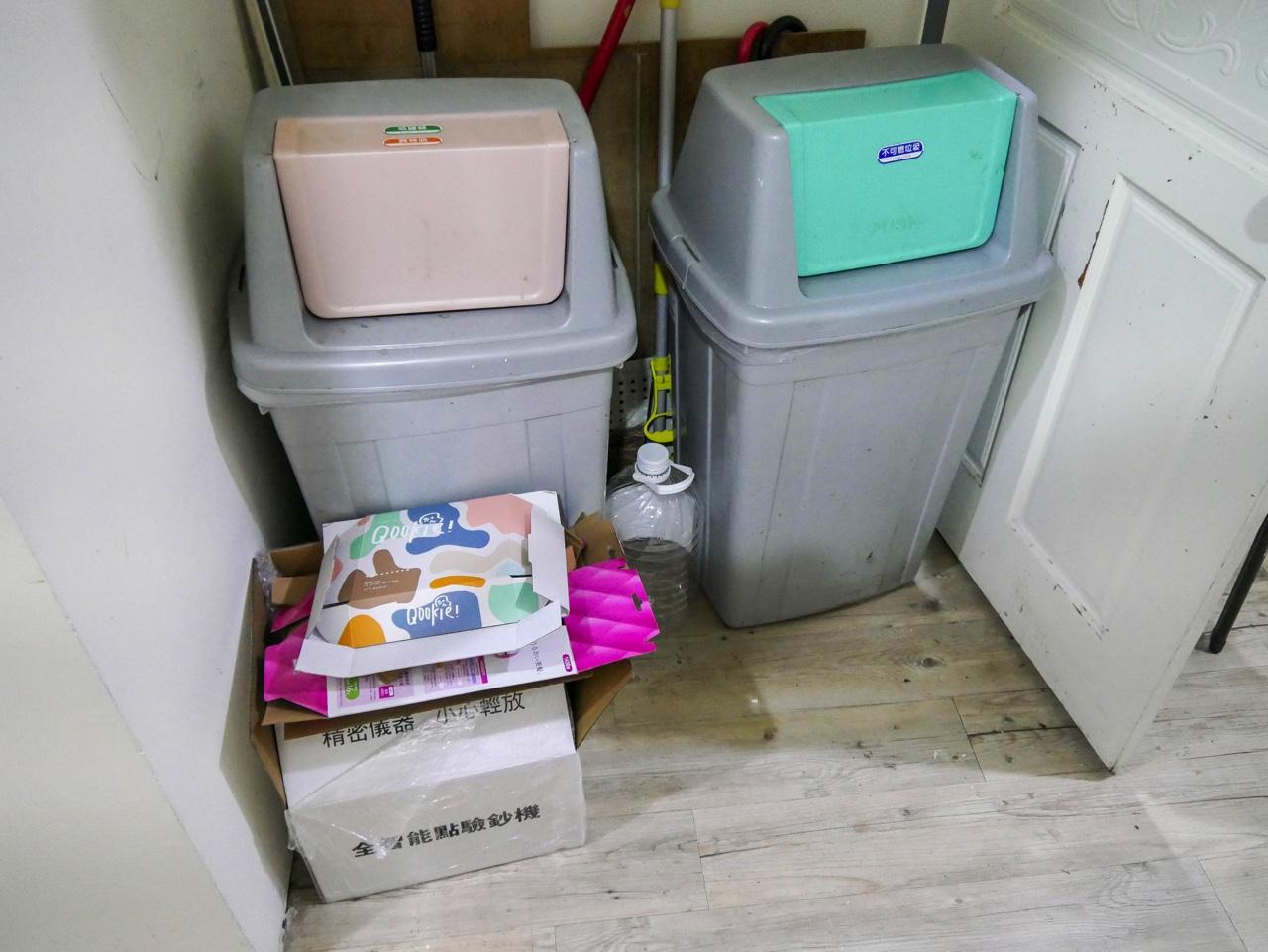 共用ゴミ捨て場