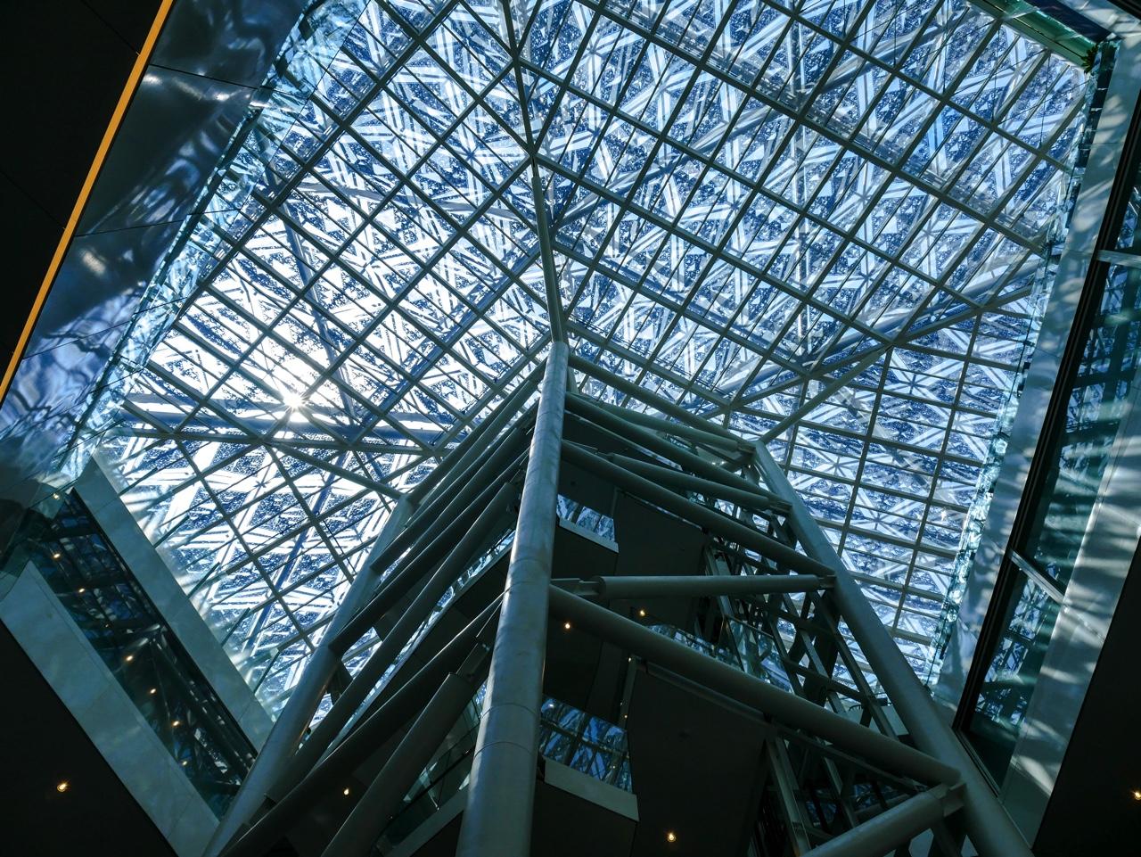 臺南市美術館2館の大屋根
