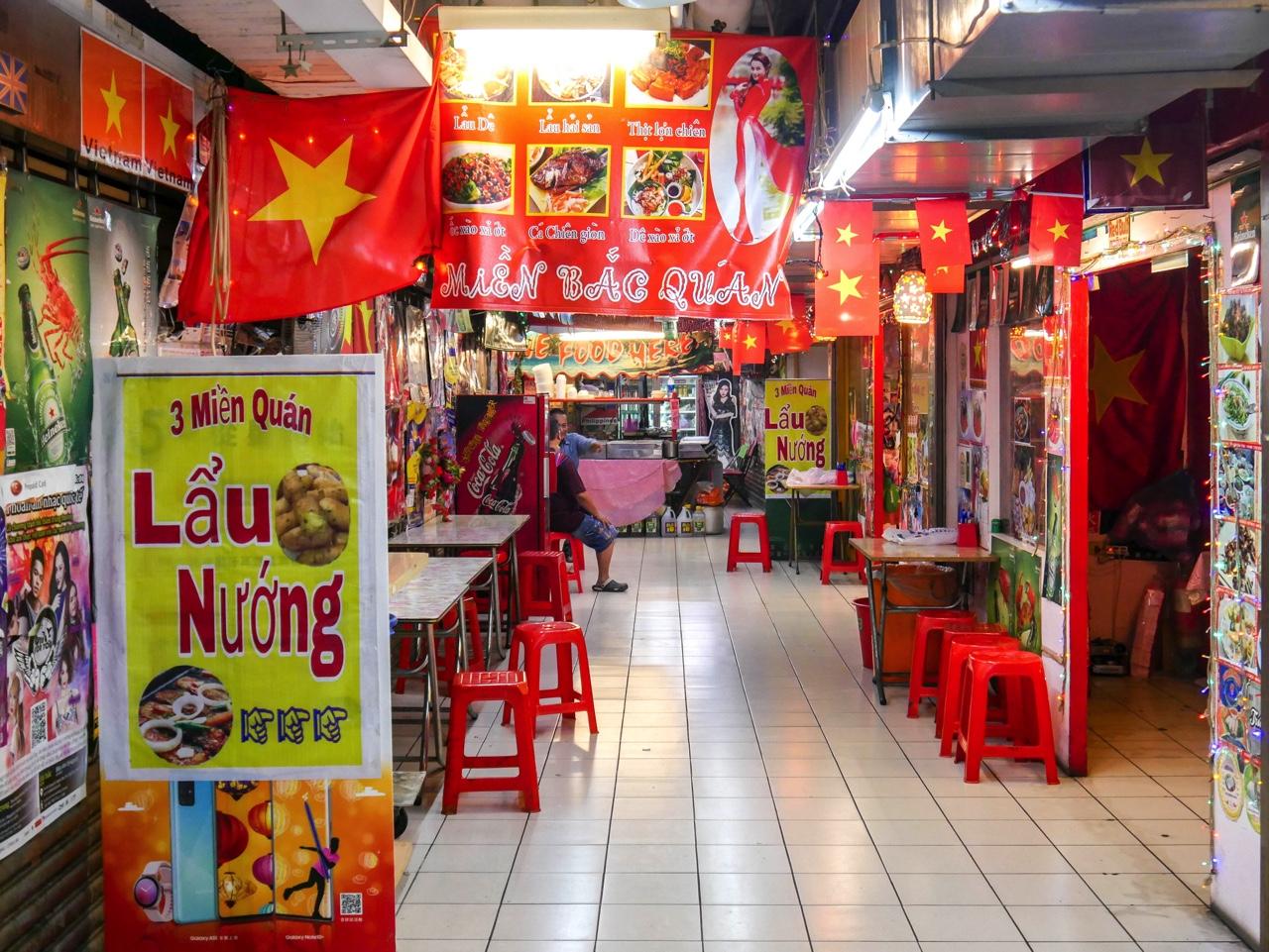 アセアン広場のベトナムレストラン