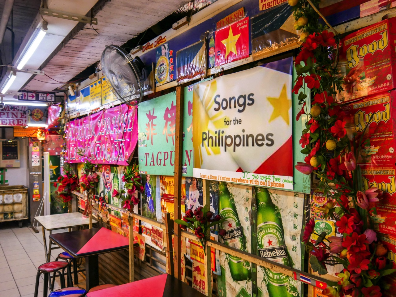 アセアン広場のフィリピンレストラン