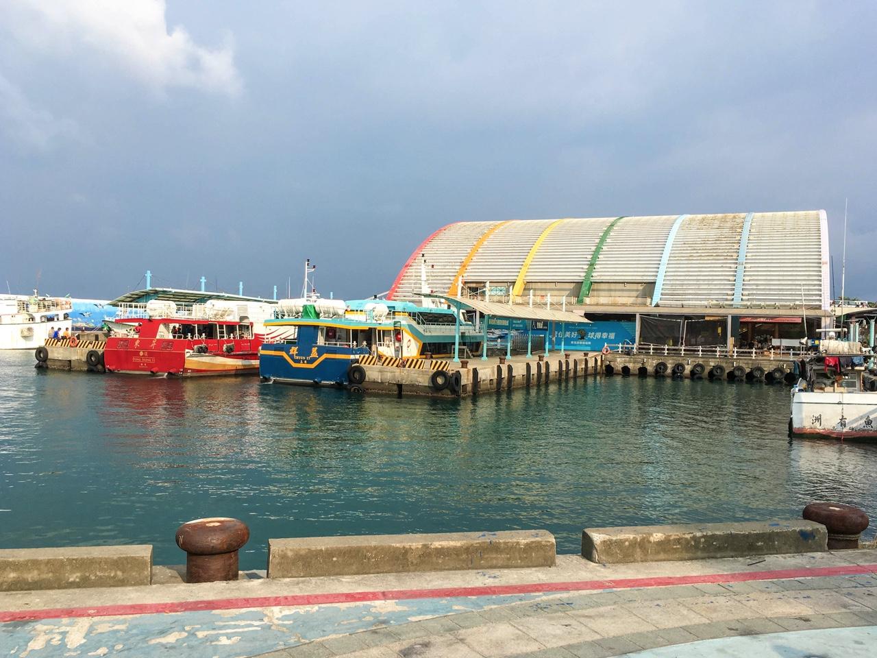 小琉球・白沙尾漁港