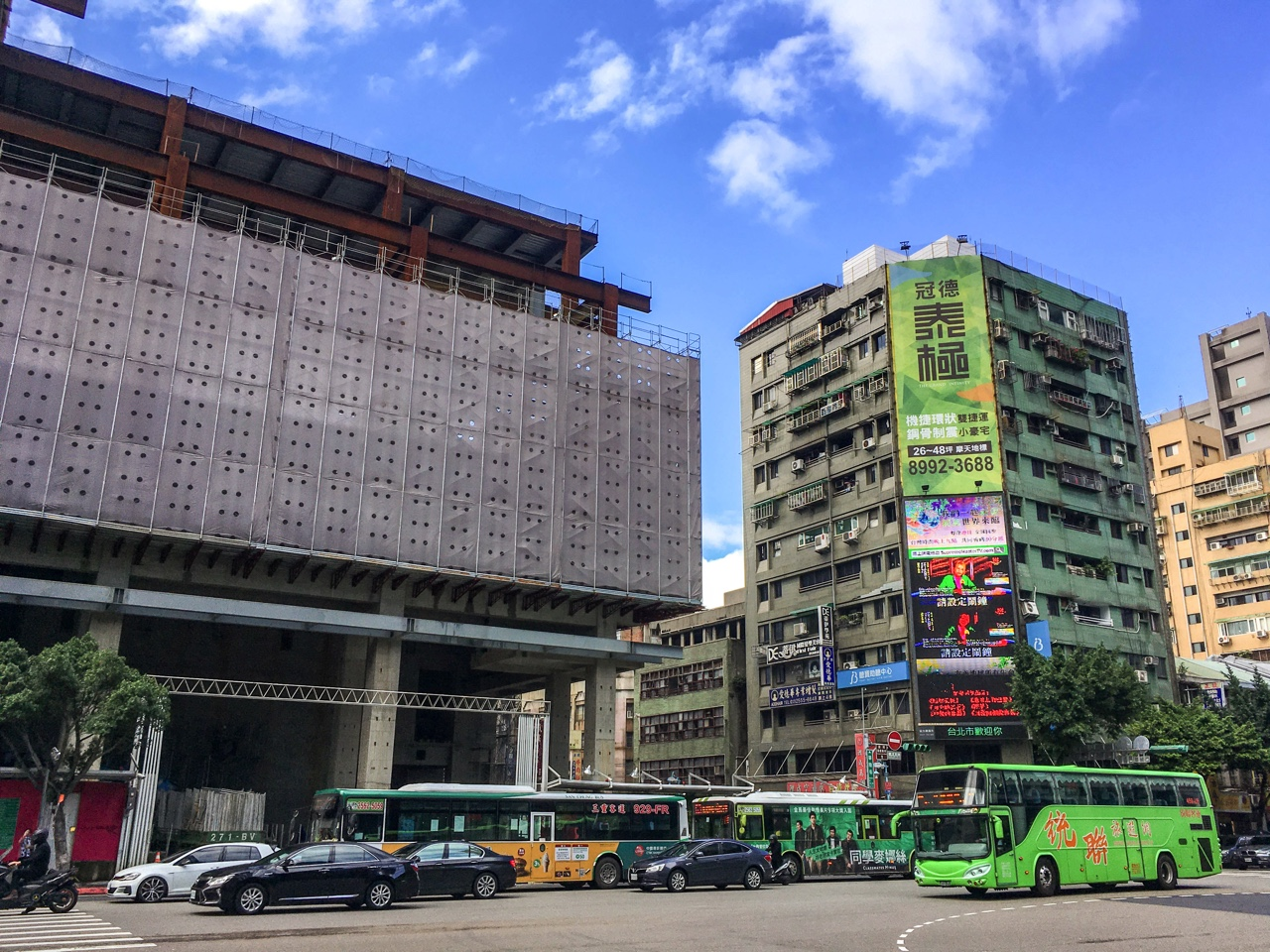 台北の街並み01
