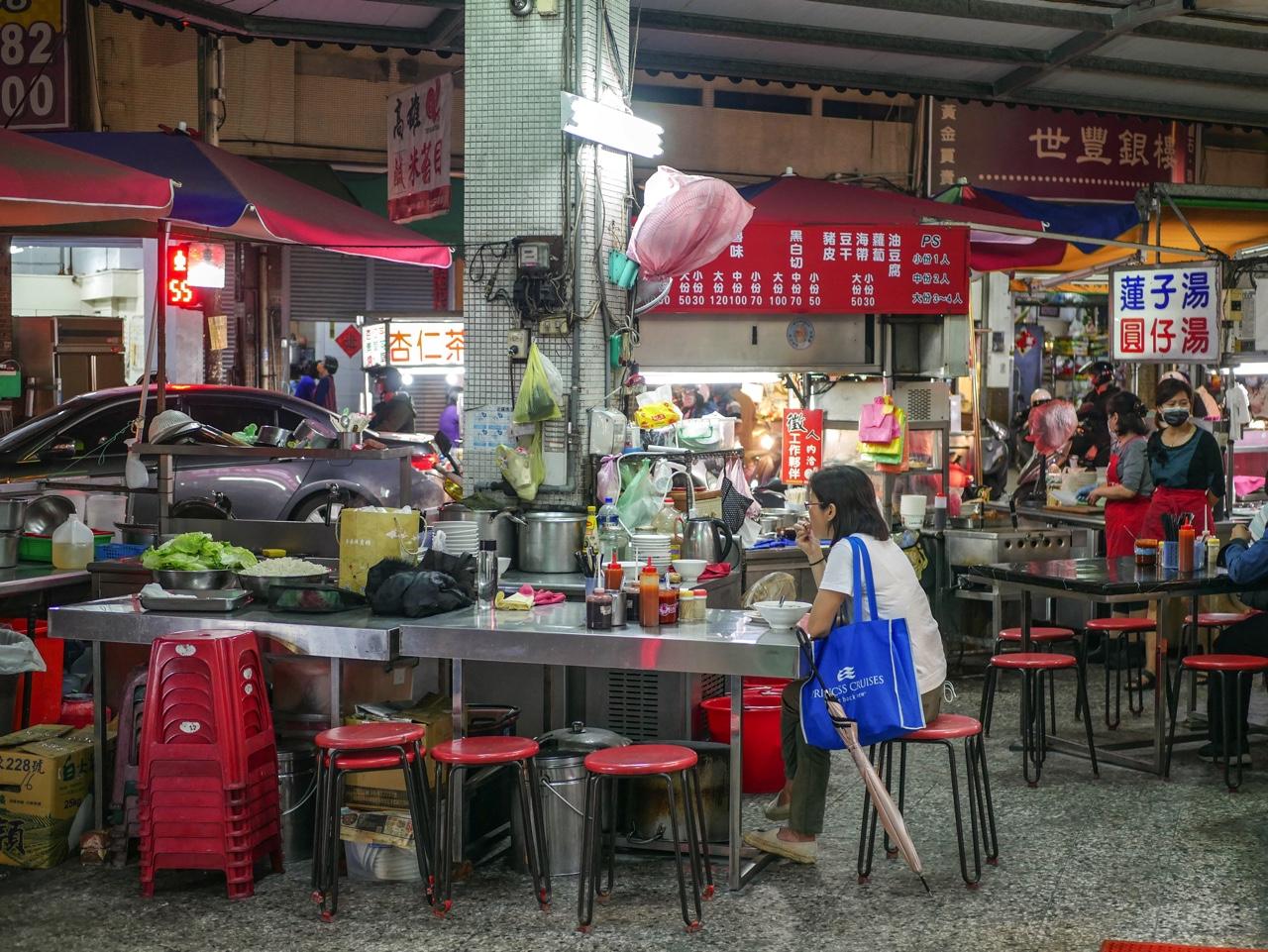 台湾の大衆レストラン
