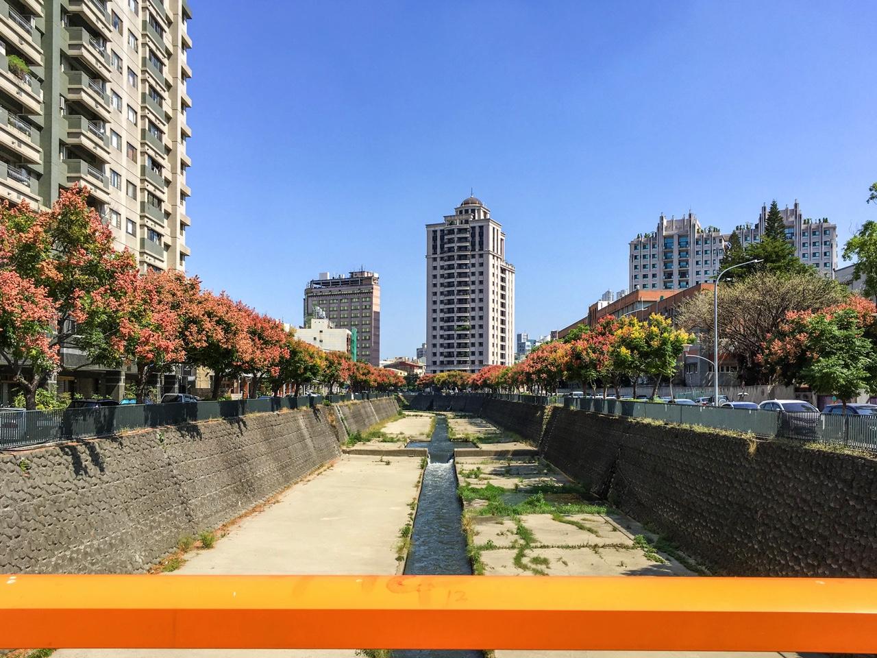 台中市の麻園頭溪