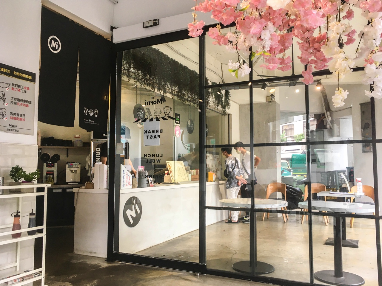 台湾の飲食店のレジ
