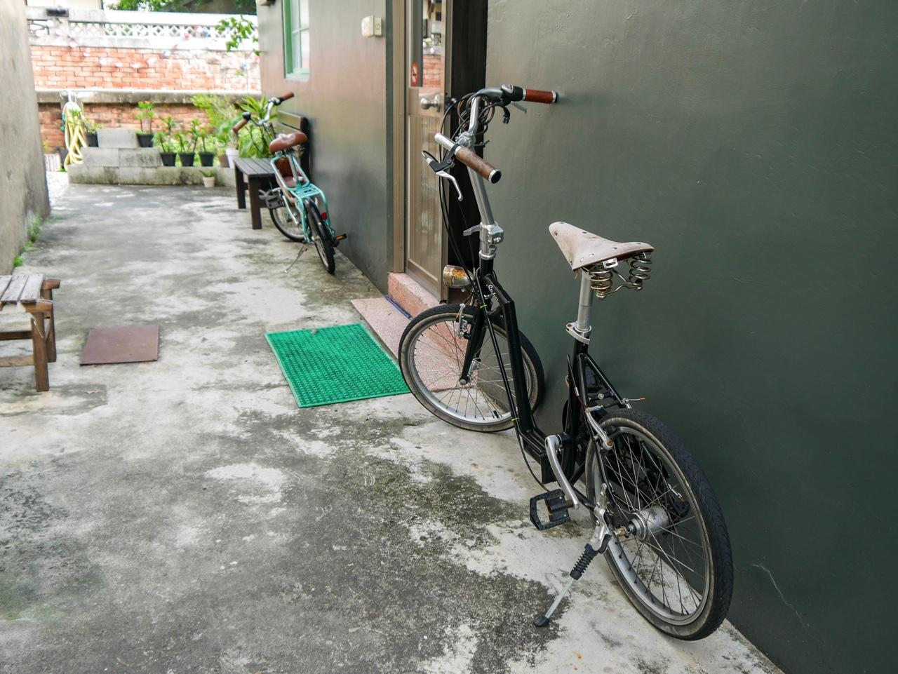 宿泊客が無料できる自転車